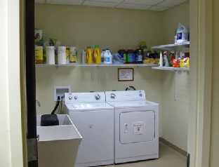 New Shelter laundry